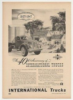 1947 international truck in Parts & Accessories
