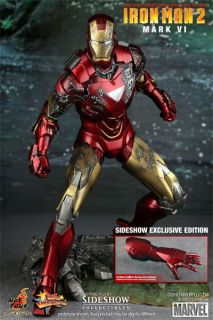 hot toys IRONMAN 2 mark vi EXCLUSIVE mk 6 ship from USA brand new