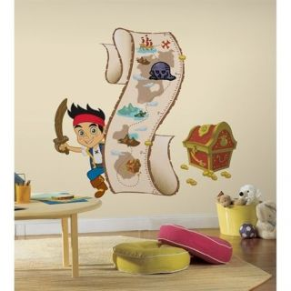 Jake & the Neverland Pirates Growth Chart Removable Wall Decal