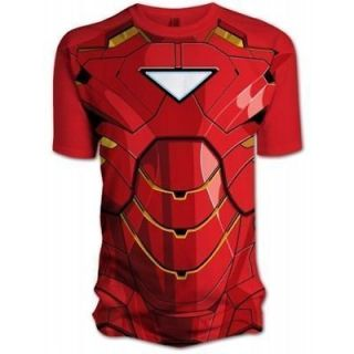 Mens   Iron Man 2   Costume T Shirt   Brand New