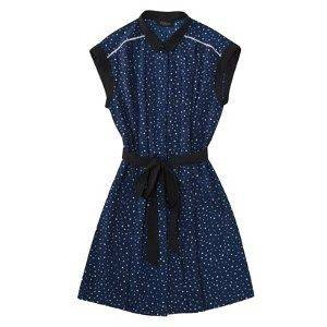 NEW JASON WU for Target   Sleeveless Pleated Shift Dress in Navy w