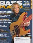 APRIL 2006 BASS PLAYER guitar music magazine AEROSMITH   TOM HAMILTON