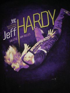 Jeff Hardy WWE Wrestling Wres​tler My Life Rules shirt S