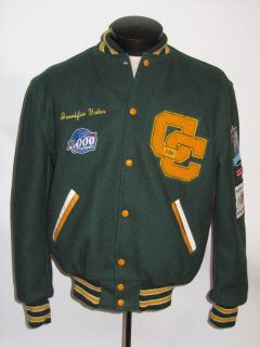 MARCHING BAND WOOL VARSITY JACKET! PATCHES! MADE IN USA BY NEFF! M