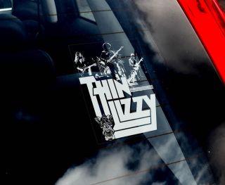 Thin Lizzy   Car Window Sticker   Hard Rock Music Band Sign