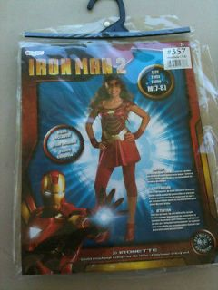 IRON MAN 2  IRONETTE COSTUME