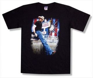 JASON ALDEAN   STANDING PHOTO 2009 TOUR BLACK T SHIRT   NEW ADULT