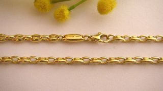 GORGEOUS 18KT SOLID GOLD UNISEX ITALIAN LINK CHAIN   GRAMS 35.7