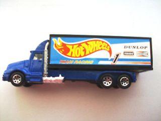 Treasure 1996 Mattel Hot Wheels Racing Team DUNLOP Semi Truck