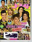 SELENA GOMEZ JUSTIN BIEBER J 14 Magazine 8/11 DEMI LOVATO TAYLOR SWIFT
