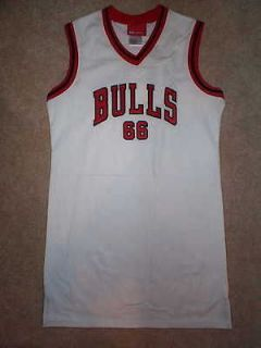 REEBOK Chicago Bulls STITCHED/SEWN nba Jersey Dress YOUTH (GIRLS L 14