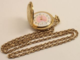 Vintage 17 Jewel Arnex Pocket Watch With Original Case