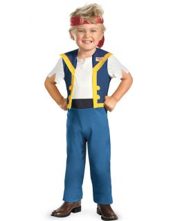 Jake and the Neverland Pirates Toddler Costume 2T Halloween Boys Child
