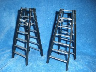 WWE TLC Action Figure Accessory Lot WWF Tables Ladders Chairs Jakks