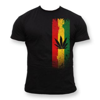 shirt Reggae Jamaica Smoking Spliff Cannabis Marijuana Rasta Smoke