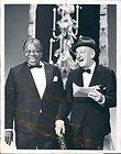 1965 American Jazz Trumpeter Louis Armstrong Comedian Jimmy Durante
