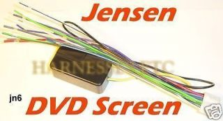 155524036_newly listed jensen screen wire harness vm9312 vm9412 newly listed kenwood wire wiring harness 16 pin cd radio stereo jensen vm9512 wiring harness at mifinder.co