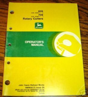 john deere 513 rotary cutter manual