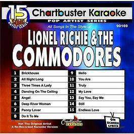 Lionel Richie Greatest Hits CHARTBUSTER KARAOKE CDG on PopScreen