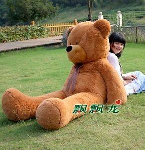 70GIANT HUGE BIG STUFFED ANIMAL BEAR PLUSH TOYS 100% PP COTTON 180CM