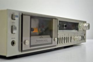 Technics Stereo Cassette Deck Tape Player Recorder RS M270X