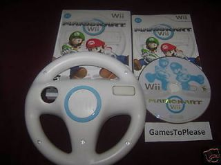 Mario Kart & Wheel Nintendo Wii Game ScratchFreeDisc