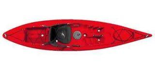 Ocean Kayak Venus 11 kayak red w/cannon fiberglass kayak paddle&front