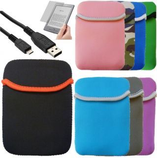 Carry Pouch Sleeve Case  Kindle 4 4th Gen 6 WiFi Kindle Touch