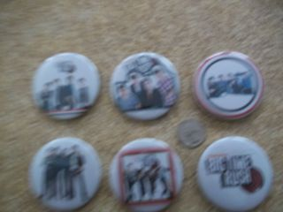 Big Time Rush buttons  set of 6 Large 2 1/4 for shirts backpacks