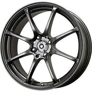 New 17X7.5 5x100 KONIG Feather Black Wheel/Rim