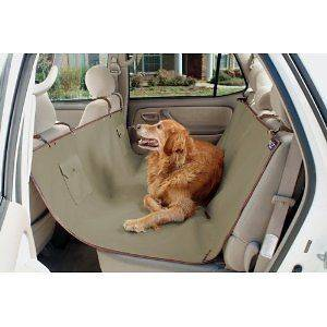 Pet DOG Hammock Sta Put Water Proofback Seat Cover for SUV or CAR