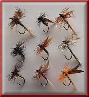 WET FLIES TROUT, HAND TYED, BRAND NEW, FISHING FLY for rod reel line X