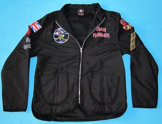Iron Maiden   Killers Flight Jacket size M ZIP Hoodie