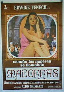 DONNE SI CHIAMA / EDWIGE FENECH / ALDO GRIMALDI / 1972 / MOVIE POSTER