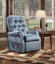 Med Lift WIDE Electric Liftchair Power Recliner Chair