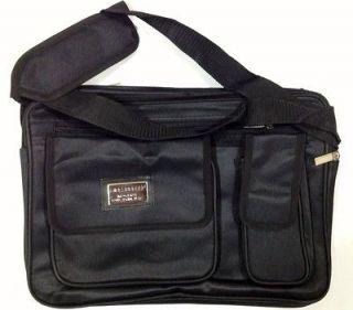Laptop Notebook carrying bag case briefcase ~ black Fits Apple Macbook