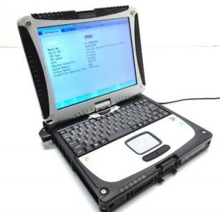 Newly listed Panasonic ToughBook CF 18 10.4 Laptop  1.20GHz Pentium