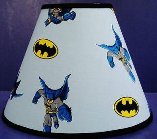 Batman Light Blue Lampshade Lamp Shade