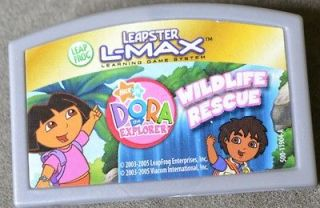 LEAPSTER DORA DIEGO WILDLIFE RESCUE AMINAL RESCUER NICK JR learning
