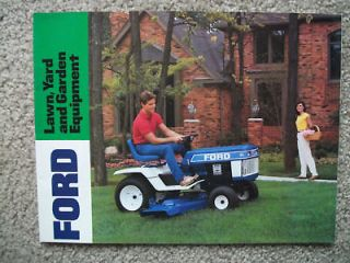 Vintage Ford Lawn & Garden Equipment sales Brochure