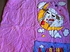 Lamb Chop Shari Lewis Pink and Purple Sock Puppet Sleeping Bag with