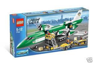 Lego City/Town # 7734 Cargo Plane New MISB HTF