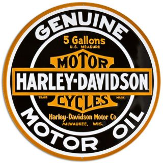 harley davidson signs in Collectibles