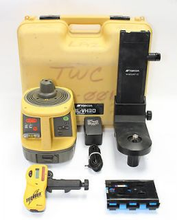 TOPCON RL VH3D SELF LEVELING ROTARY LASER LEVEL, SPECTRA, HILTI