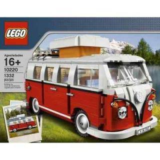 LEGO 1962 VW Volkswagon Bus T1 Camper Van 10220 SEALED SHIPS FAST