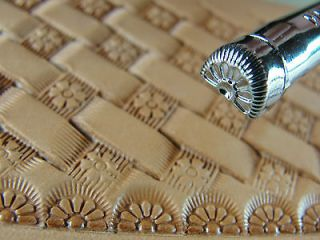 Pro Crafters Series   7 Petal Border Stamp (Leather Stamping Tool)