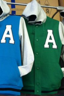 Jackets, Lettermens Jackets. Premium quality.bright Med green. Letter