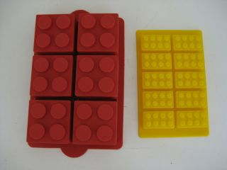 LEGO SILICONE BRICK BIRTHDAY PARTY CAKE PAN MOLD SET