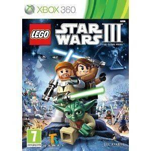 LEGO Star Wars III 3 The Clone Wars Microsoft Xbox 360 PAL Brand New