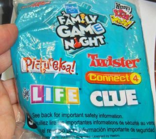 Kids Meal Toy Hasbro Family Game Night The Board Game of Life MIP 2010
